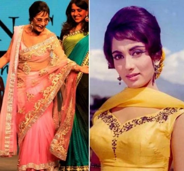 Sadhana was the most expensive actress of Bollywood, lived in Asha Bhosle's house at her last moment