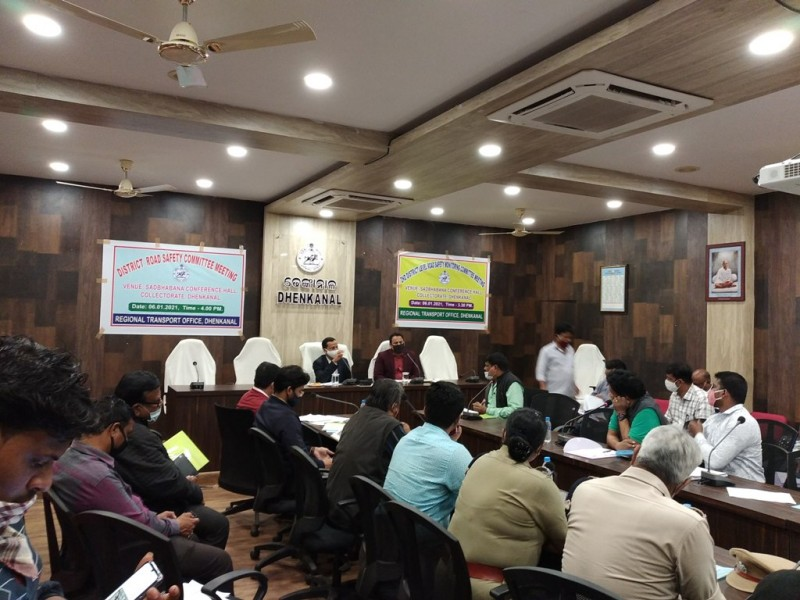 Meeting of the Level Road Safety Committee was held in the Collectorate.