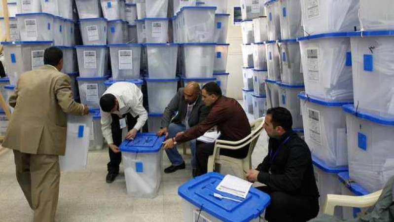 Iraq approves over 8,200 polling centres for parliamentary polls