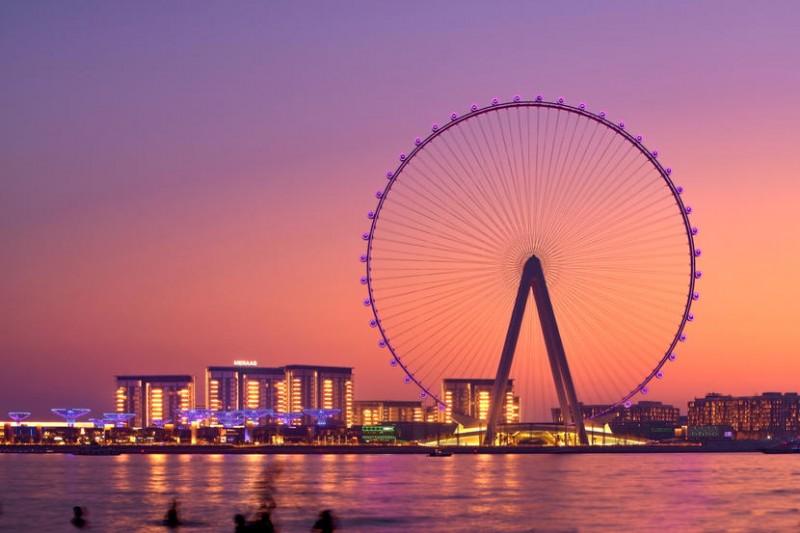 दुबई में मौजूद है दुनिया का सबसे बड़ा झूला