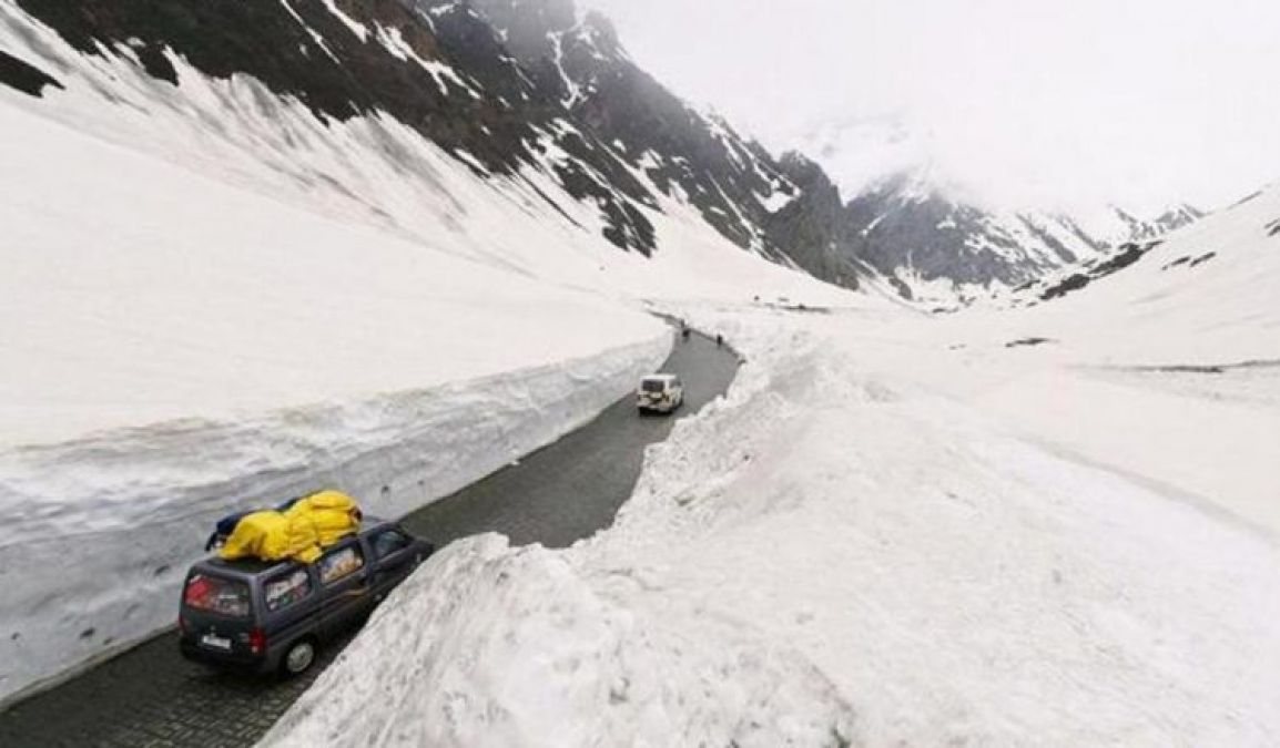 VIDEO: Manali-Leh Highway open after 8 months of hard work
