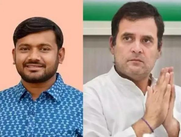 कांग्रेस में जा सकते हैं CPIM नेता कन्हैया कुमार, राहुल गाँधी से मिलने के बाद अटकलें तेज़
